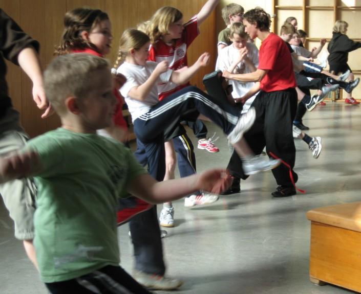 Konflikttraining für Schulen - kungfu-lernen-in-hamburg